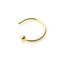1 шт. u-образное поддельное кольцо для носа кольца для перегородки Кольца из нержавеющей стали имитация пирсинга для носа пирсинг ювелирные ...(China)