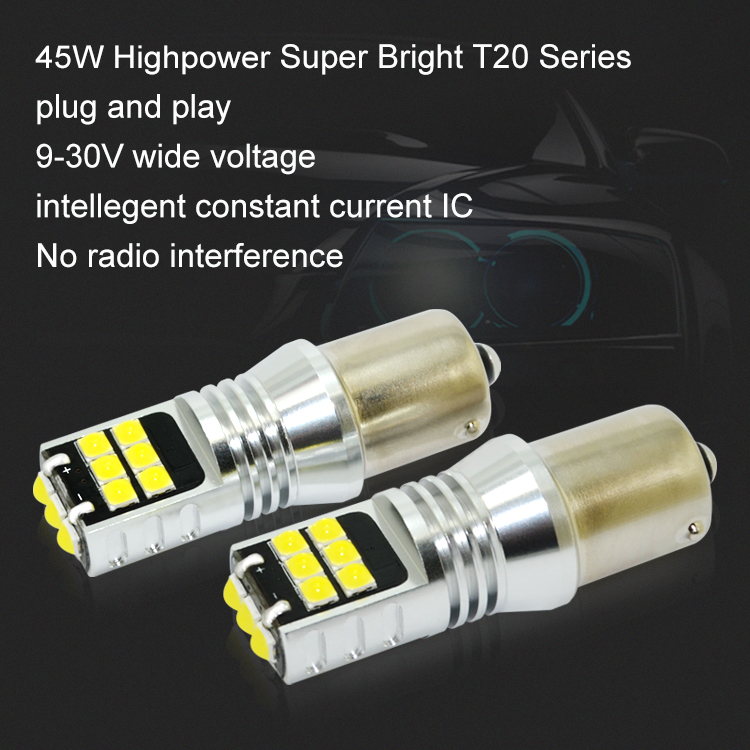 ベスト販売車 led ライトのヘッドライト 1156 ba15s 1141 p21w テールライト led は車 can バス