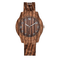 2020 new model fashion wooden watch mens wrist watches in alibaba china