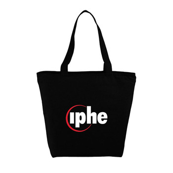 The Maine Zippered Cotton Tote Cotton Tote Bag
