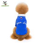 Hot Pet Clothes Simple Dog Tshirt With Suit Collar Wool Pet Clothes Sweater