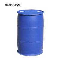 200 liter plastic hdpe container 200l 55gallon Disinfectant blue drum