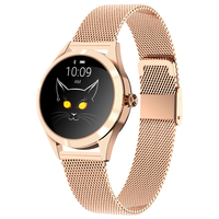 KW10 women smart bracelet call reminder sports step heart rate blood pressure lady smart watch