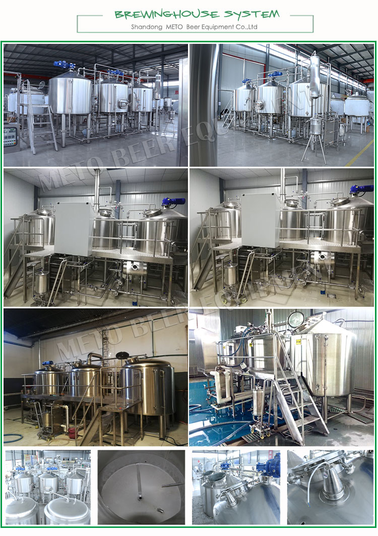 1000L brewery equipment beer plant machinery for plate chiller brewing
