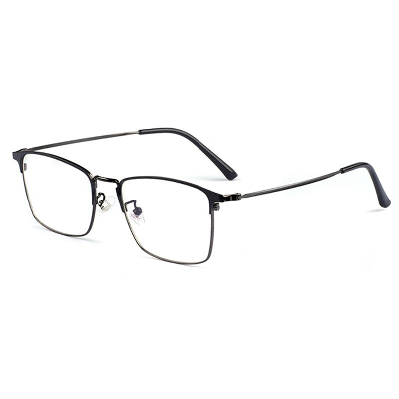Iş modern Metal alaşım tam jant Logo ile optik gözlük çerçeveleri