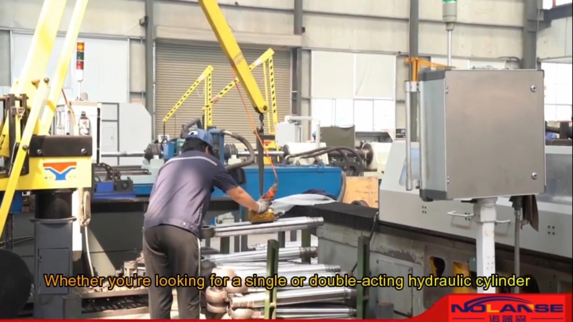 Cylindre de Presse hydraulique Vérin Hydraulique pour Presse Machine Machine À Cintrer De Cylindre Fait Sur Commande