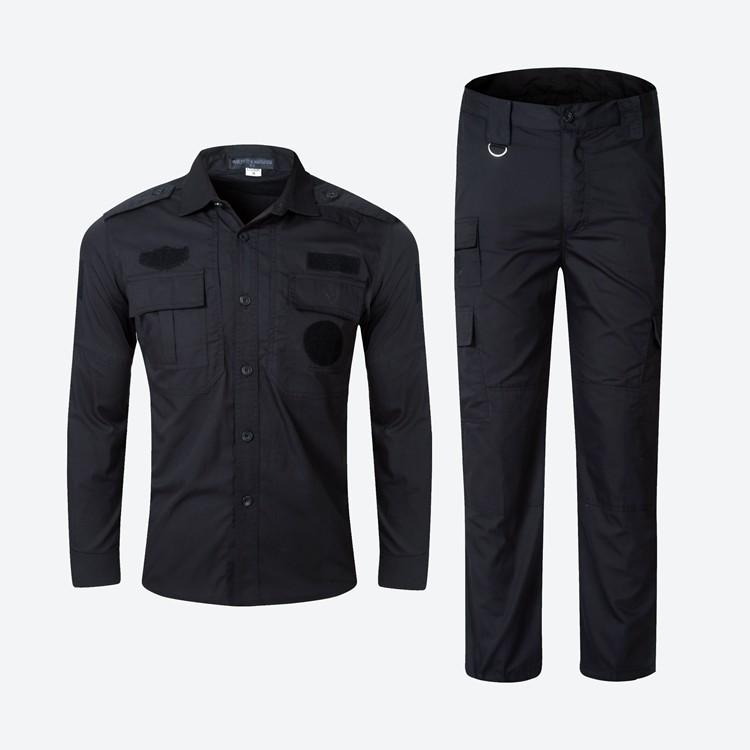 Wholesale OEM Custom Classic  Casual  Long Sleeve Cotton  Mens Army Uniform