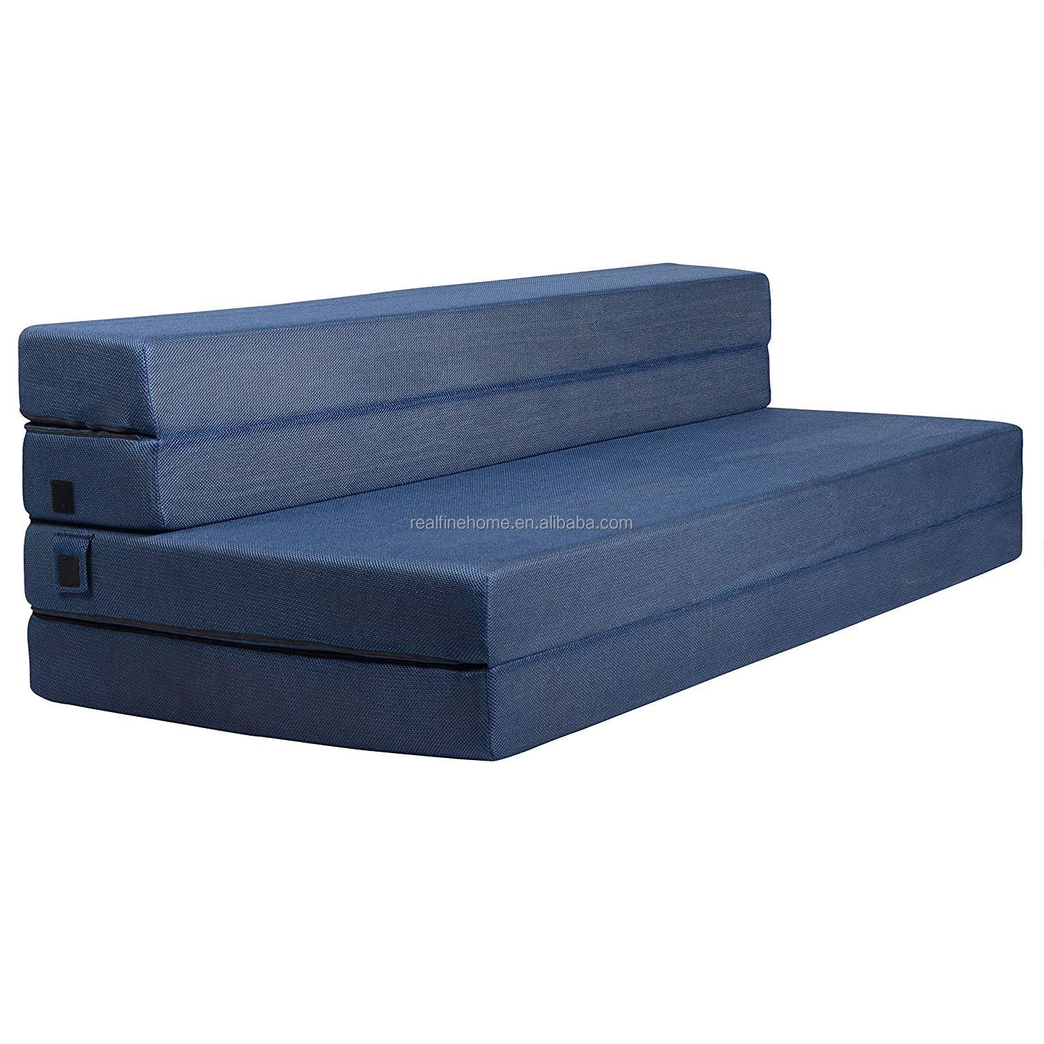 4 Pieces Folding Foam Folding Mattress And Sofa Bed For Guests Queen 78x58x4 5 Inch Buy Tri Fold Foam Mattress Tri Fold Sleep Mat Foldable Foam Mattress Product On Alibaba Com