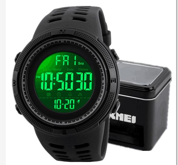 reloj digital skmei 1251 digital watches relojes para hombres sport watches for men, 7 colors