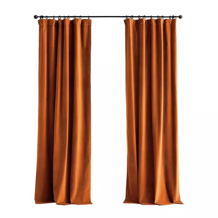 Velvet Luxury Drapes <strong>Curtains</strong> Fabric Blackout <strong>Curtain</strong> Solid Color black out <strong>curtain</strong> blackout <strong>For</strong> Living Room