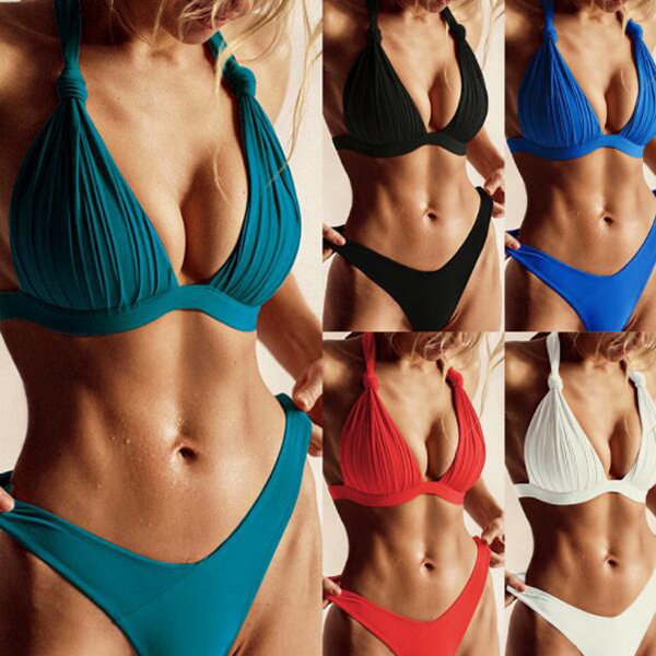 YY4102       Customized 2020 China Factory open cup Wholesale Swimwear Women Sexy Brazilian Bikini