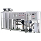 Water Water Treatment Machinery 5000LPH Pure Water Treatment System With 500ml Bottling Line 3-in-1 Washing Filling Capping Machines
