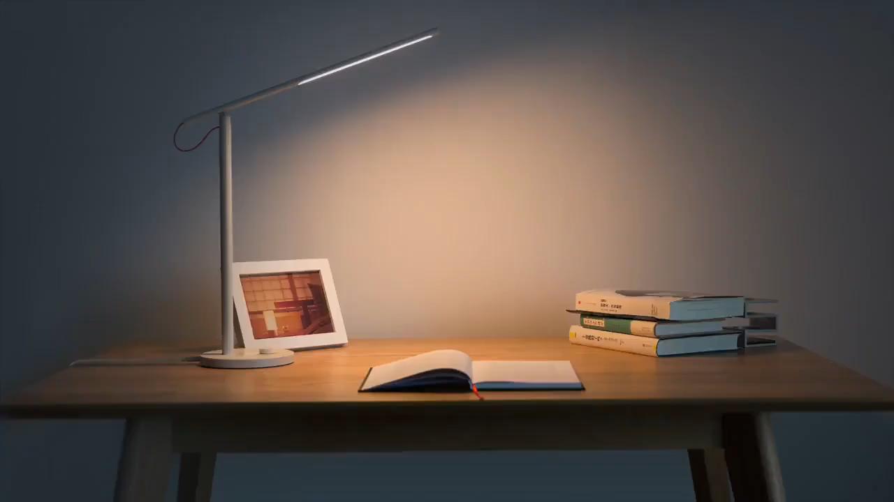 Xiaomi 3 modu LED masa lambası enerji tasarrufu masa ışığı