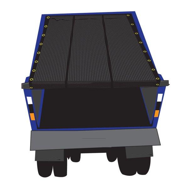 customized size truck cover multi-color vinyl coated pvc tarpaulinmesh tarp