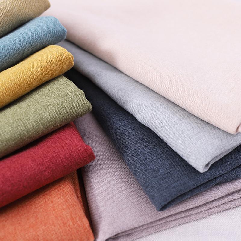 RTS tessuto della tenda di Lino materiale da cucire per divano federa decorazione mobili divano in tessuto