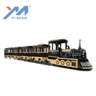Yimiao Factory Supplier Trackless Electric Train For Sale