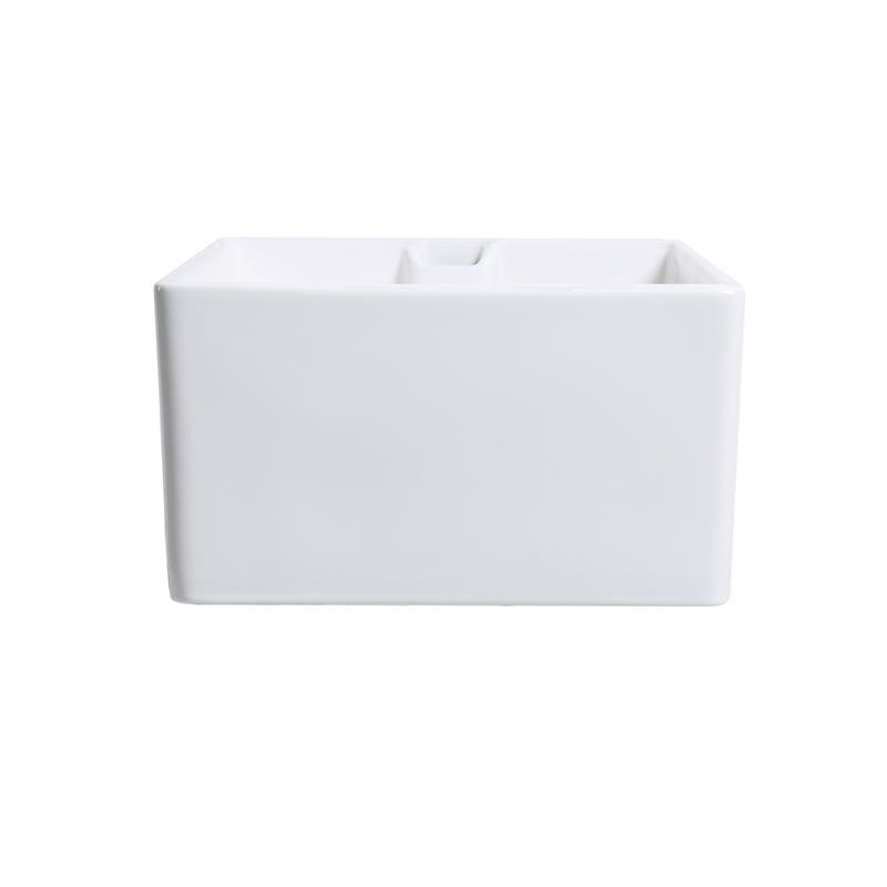 600mm Undermount Farmhouse White Ceramic Kitchen Sink