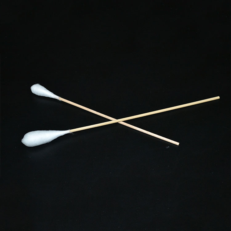 2020 Texnet Multifunction Wood Plastic Bamboo Stick  Sterile Medical  Eco Friendly Ear Cotton Bud