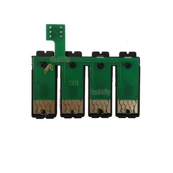 T130R 4C universal  reset chip compatible epson printer  tank cartridge   CISS chip for Epson