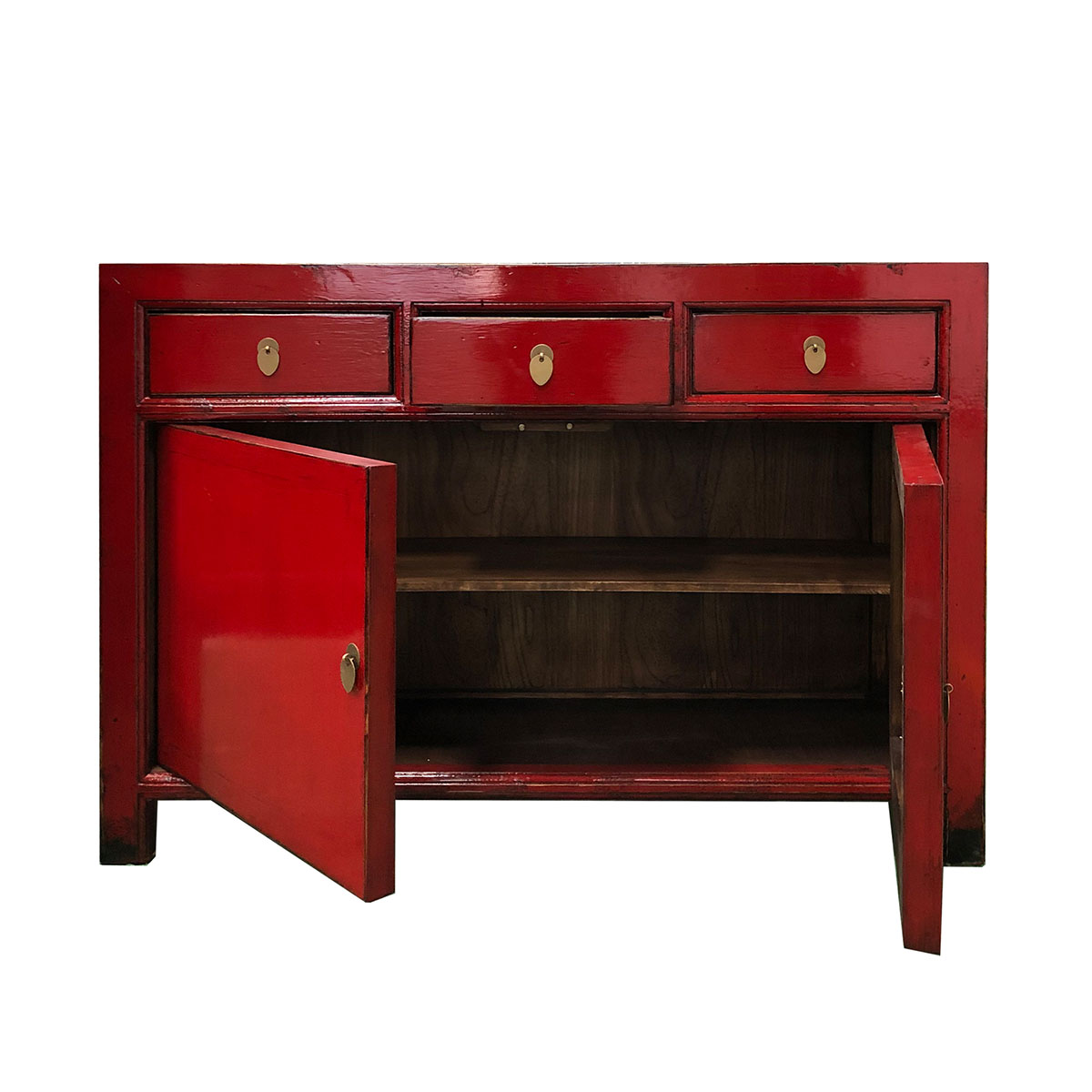 Cinese Antico Riproduzione Stile Vintage Lacca All ...