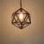 most popular items hexagon wrought iron pendant light
