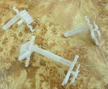 80mm * 10mm injection kunststoff spacer für den bau glasblock
