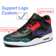 Personal Logo Custom Running Shoes Jordan 3 Air Cushion Outdoor Basketball Sneakers Special gift for Women Girlfriend Lody