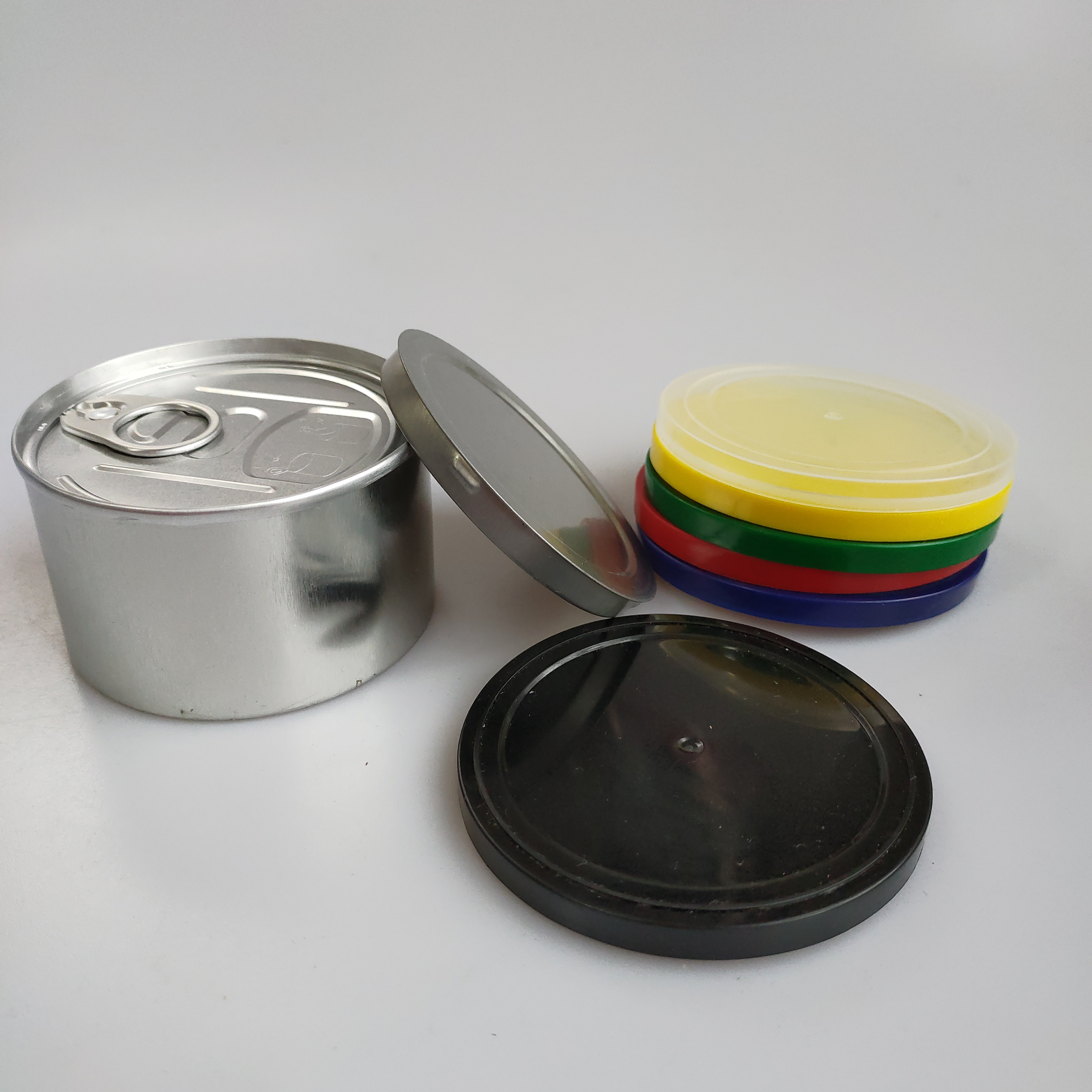 Girl scout cookies  dry herb can push bottom lid seal no tools needed holding 3.5g  bud flower air tight metal jar