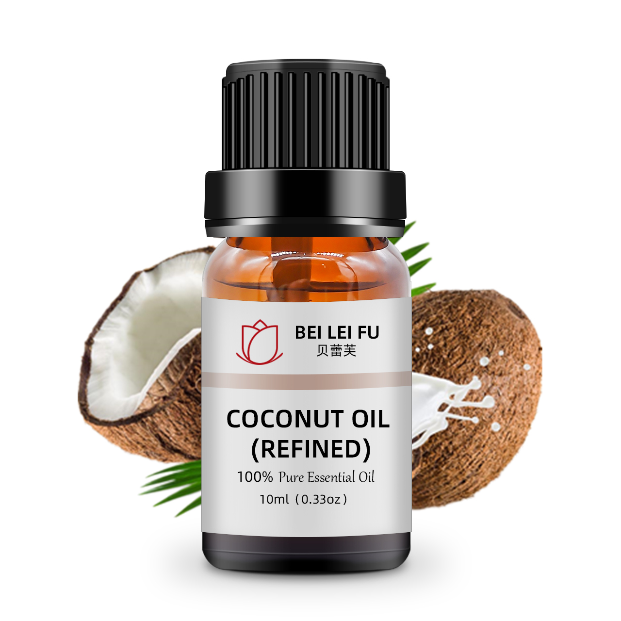 Food Grade 100% pure natural organic refined carrier oil coconut oil