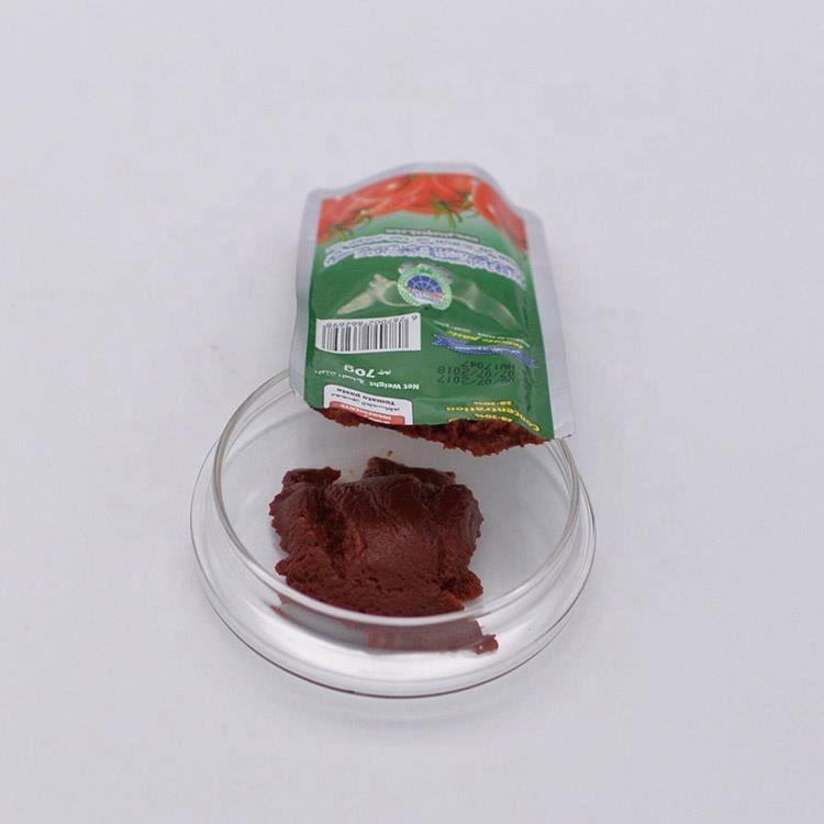 Tasche Gewürz Sauce Hot Chili Sauce 30g