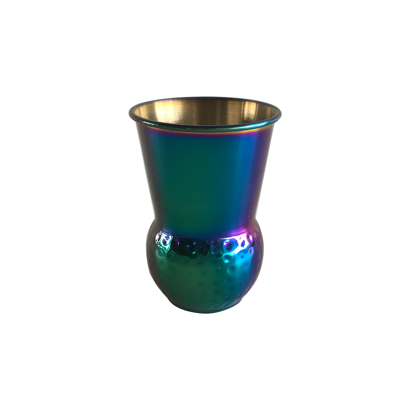 Whiskey Mint Julep Pewter Cup