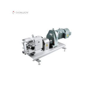 Donjoy stainless steel sanitary pump for syrup with gear box