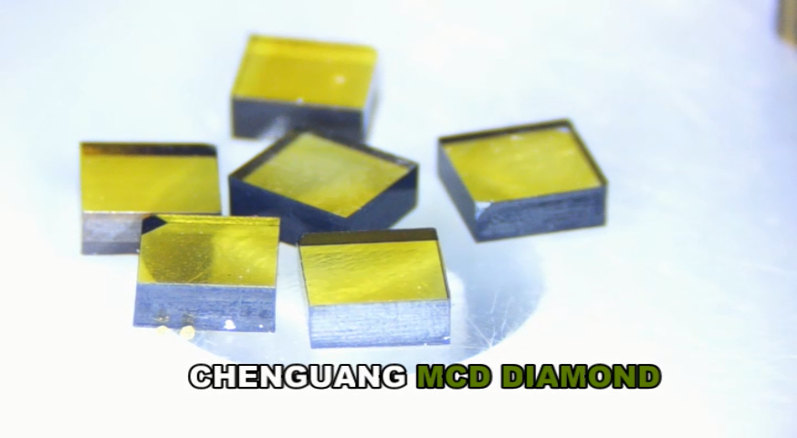 3*3*1 MCD lab grown diamond for Machining and cutting tools