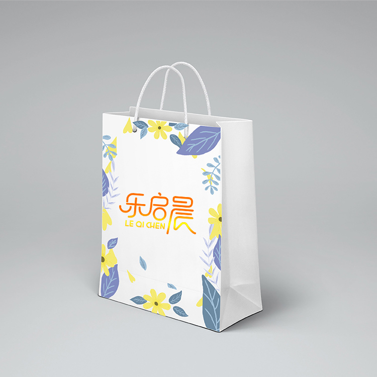 product-Guangzhou supplier cheap white shopping paper bag gift custom paper bags with logo-Dezheng-i