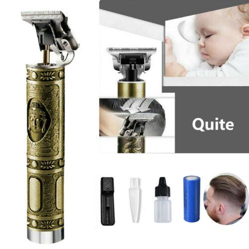 Hot Koop 2020 Professionele Close Snijden 0 Mm T-Blade Draadloze Oplaadbare Usb Barbershop Cordless Tondeuse