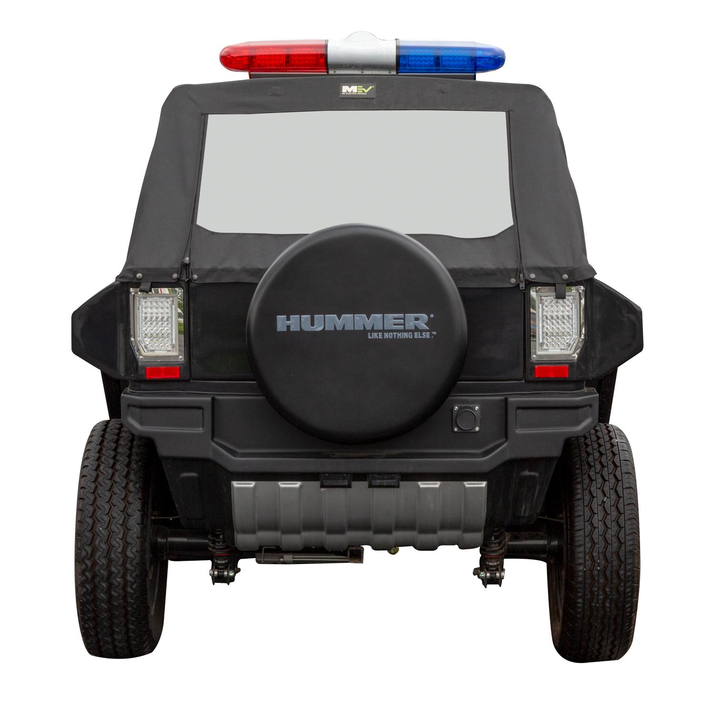 Hummer Micro Mini Electric Battery 2 Seats Airport Patrol ...