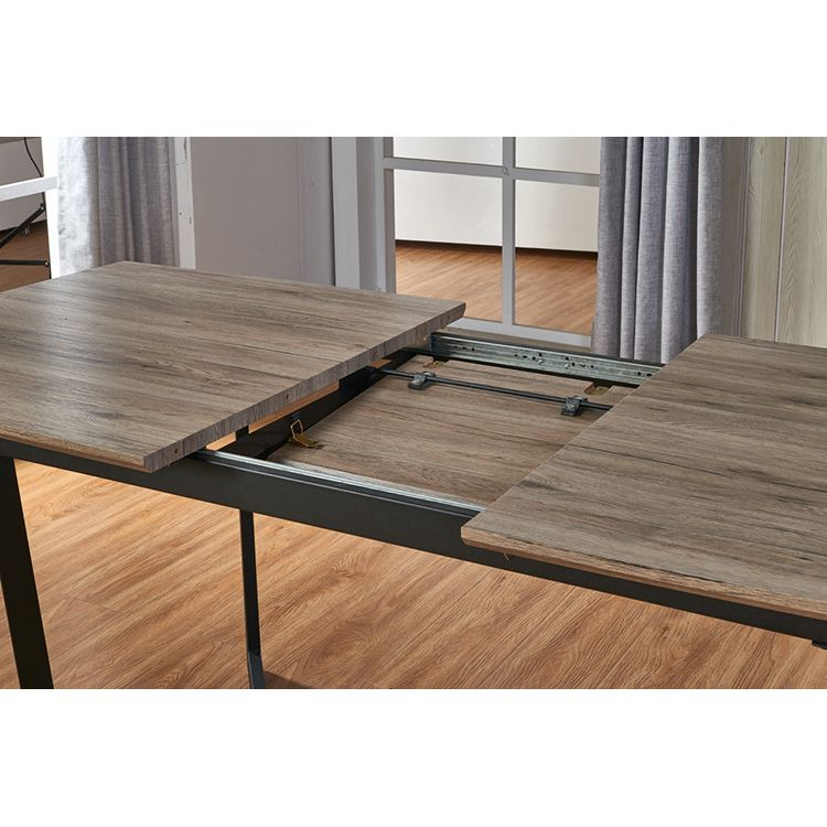 luxury modern foldable square hotel extendable epoxy wood wooden dining tables italian designs restaurant 8 seater folding