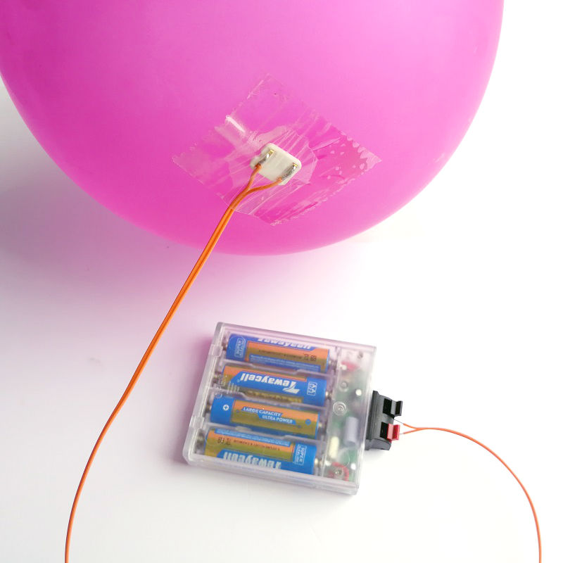1 control 8.6V Ground Explosion Air Explosion Balloon Remote Control Actuator