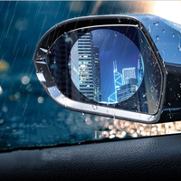 Waterproof Car Rearview Mirror Anti Fog Protective Film Automobile SUV Rear View Window Rainproof Anti-scratch Clear Membrane