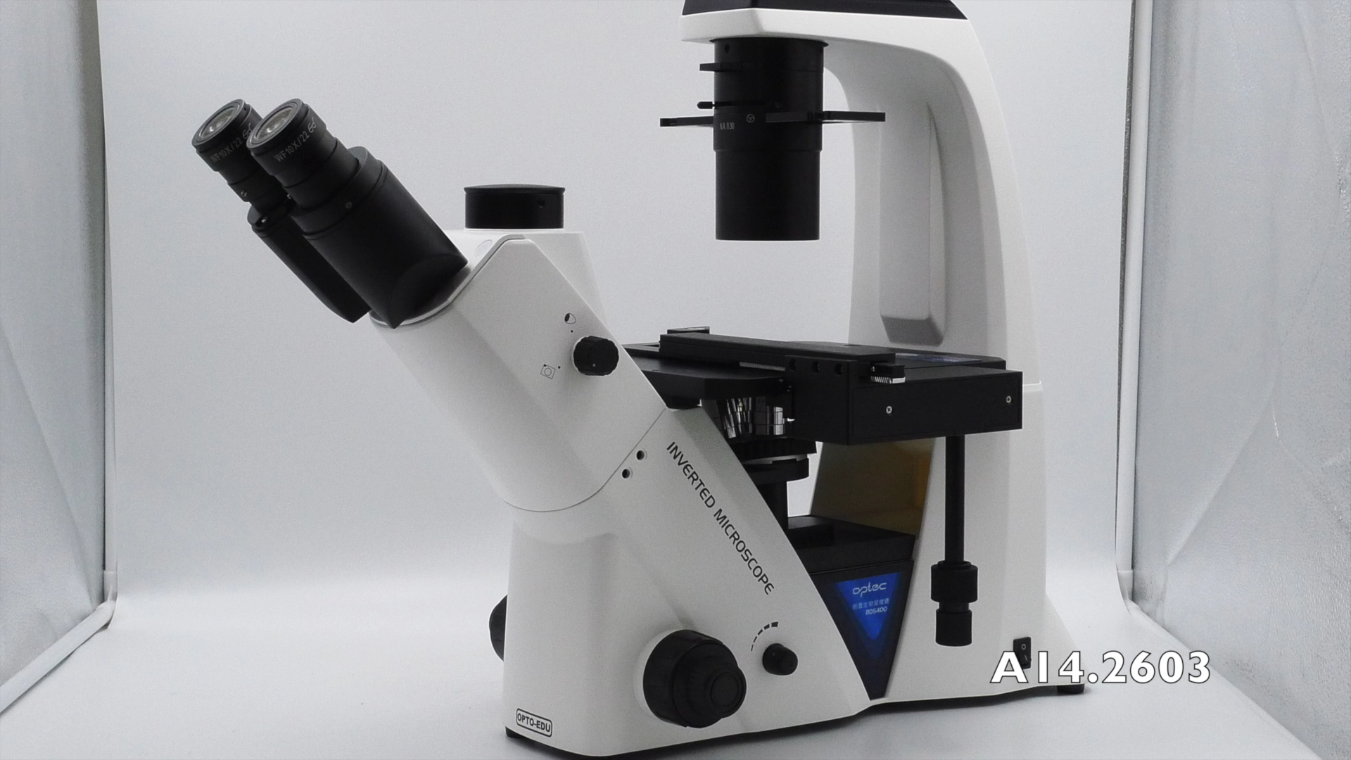 OPTO-EDU A14.2603 Тринокулярный фазовый контраст Перевернутый Биологический микроскоп