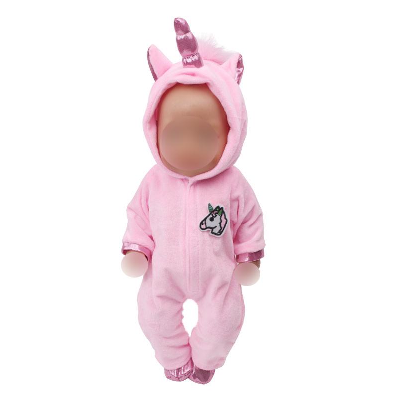 43 см детская Одежда для кукол платье принцессы Анны Белоснежки для новорожденных комбинезон Единорог детские игрушки подходит для куклы дл...(Китай)