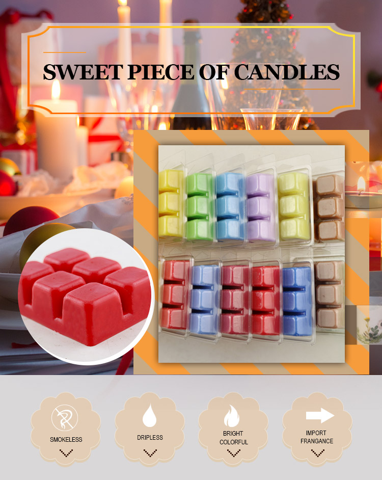 Factory Wholesale Clamshell Packaging Scented Soy Wax Melts