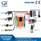 Plc Controller Programmable Controller PLC Industrial Controller Board 8 Input And 8 Output Transistor Output Programmable Multi-Channel Time Relay Simple PLC