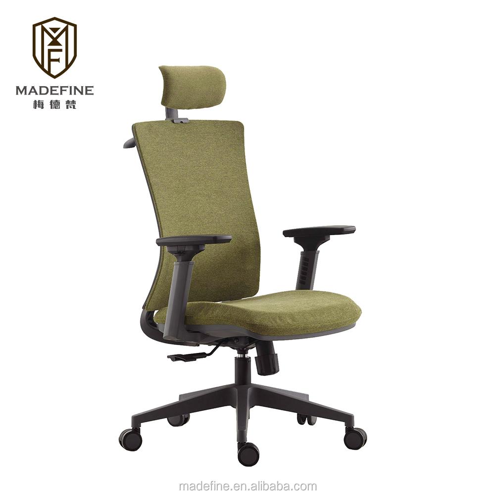 2020 MDF602A En Gros Pivotant et Rotatif Ergonomique Réglable D'ordinateur De Maille Directeur Inclinable Chaise De Bureau