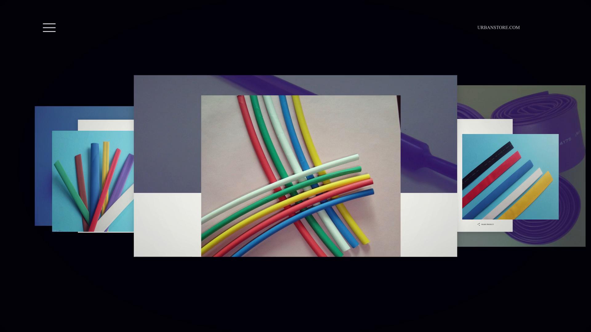 KOSOO  flexible and flame-retardant elastomer heat shrink tube