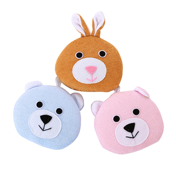 high quality bath shower sponge cartoon soft towel material bath tool for kids