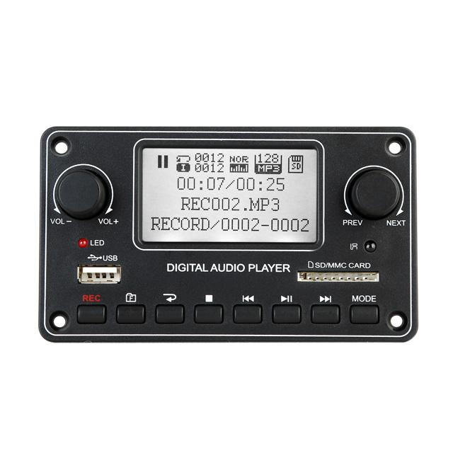 Chất Lượng Cao MP3 Mô-đun BT USB SD MP3 Mô-đun Máy Nghe Nhạc Bộ Giải Mã Board Mạch Dot Ma Trận LCD TDM-157
