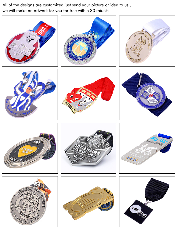 Manufacturer Customized Unique Metal 3d Embossed Cartoon Colorful Magical Zinc Alloy Medal