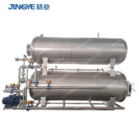 Automatic Food Autoclave Water Spray Retort Canned Food Sterilizer
