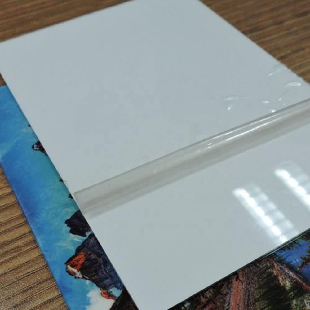 Metal gift HD photo panels dye sublimation chromaluxe aluminum sheet
